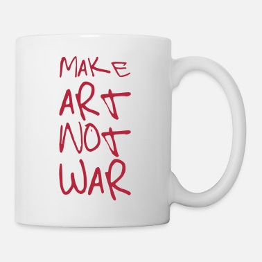 Art Make Art not War ! - Mug