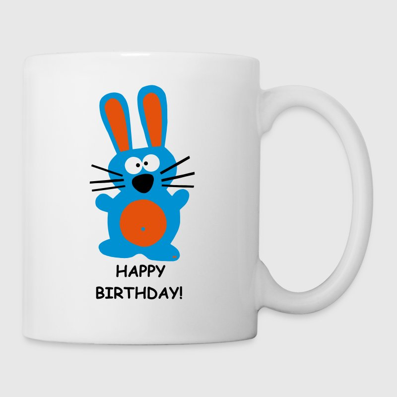 Happy Birthday Geburtstag Party Fun Hase Bunny  - Tasse