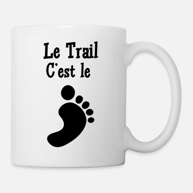 Pied Course à Pied / Running / Jogging / Coureur - Mug