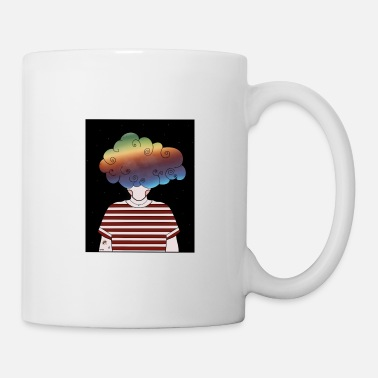 cloudy thoughts - Tasse