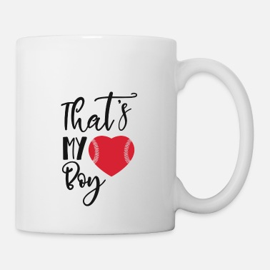 Softball Baseball heart - Mug