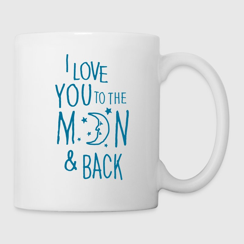 I LOVE YOU TO THE MOON & BACK - Taza