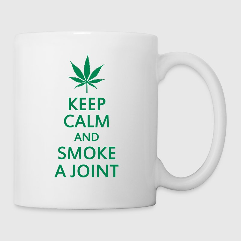keep calm and smoke a joint - Mug