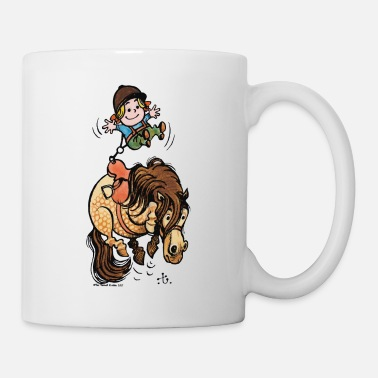Officialbrands Thelwell Funny Illustration Bucking Horse - Mug