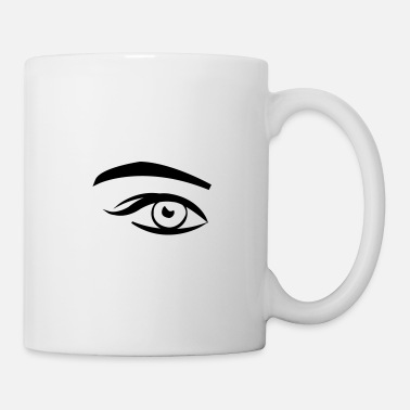 Girl eye - Tasse