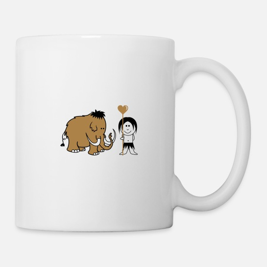 Love Mugs & Drinkware - cuckold mammoth - Mug white