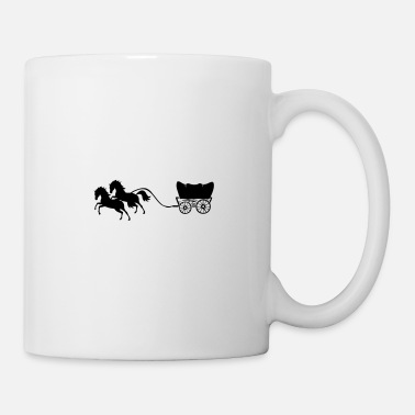 Horse carriage horses - Mug