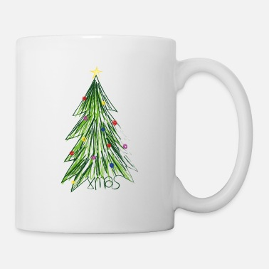 Banquet Colorful Christmas tree Christmas gift idea - Mug