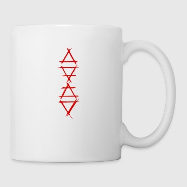 Element symbol 4 elements red - Mug