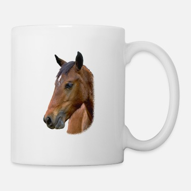Horse Head brown - Mug