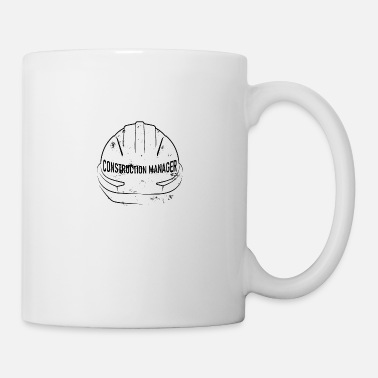 Building Construction site, helmet - Mug