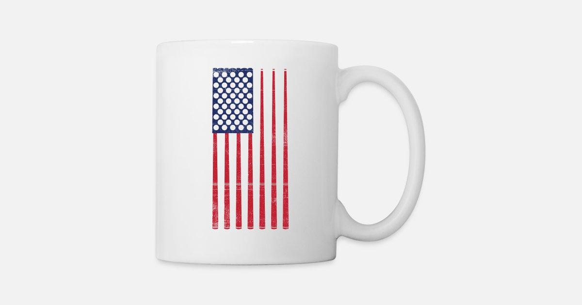 De Cadeau Usa MugSpreadshirt Flag Billard MGqUpSVz