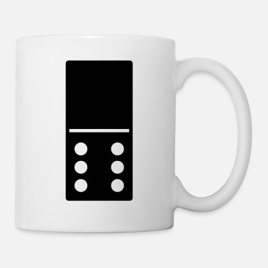 Pagar DOMINO STONE 0: 6 - COLOR VARIABLE - DISEÑO VECTORIAL! - Taza
