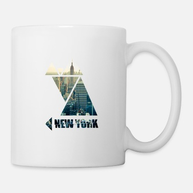New Age New York City America - Taza
