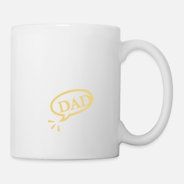 Speech Balloon dad (1c) - Mug