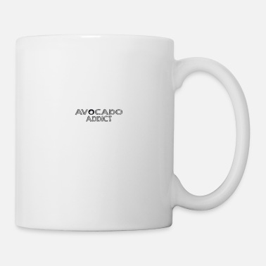 Man avocado addict 01 - Mug