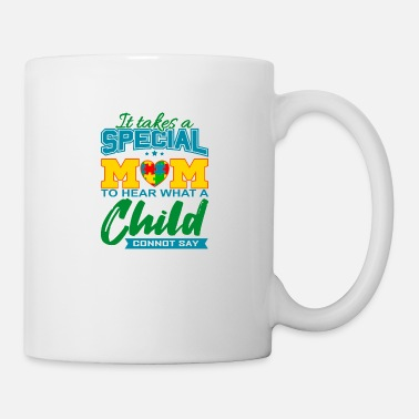 Healthy AUTISM SPECIAL MOM Autism Awareness Gift - Mug