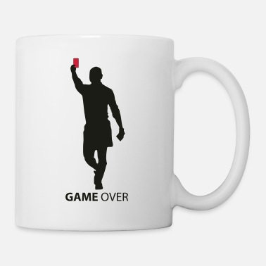 Red Card game over flex - Mug