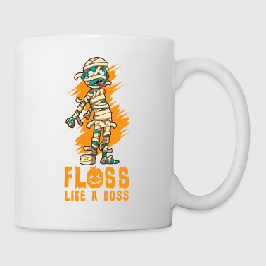 Halloween Mummy Floss Dance - Taza