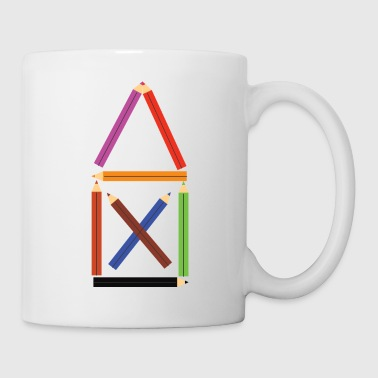 House of St. Nicholas from crayons - Mug