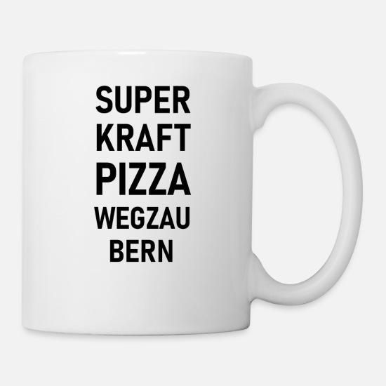 Pizza Tassen & Becher - Pizza - Tasse Weiß