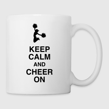 Cheerleading Cheerleader Sport Sportler Spieler - Tasse