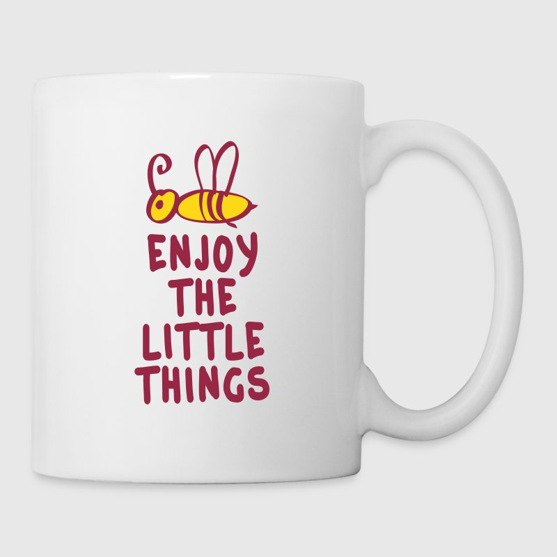 enjoy the little things 2c - Mug blanc