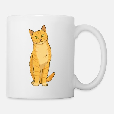 Domestic Cat Cat Ginger - Mug