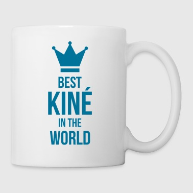 Best Kiné in the world - Mug blanc