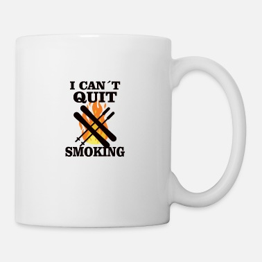 Bbq Auf BBQ: Can't Quit Smoking - Tasse