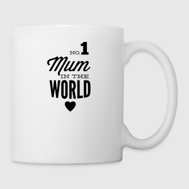 no1 mum in the world - Tasse