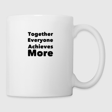 inspirational TEAM motif as a gift - Mug