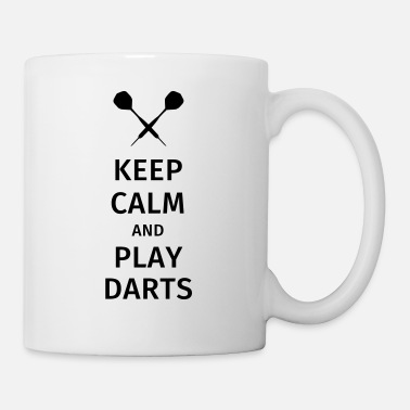 Keep Calm And Keep Calm and Play Darts - Tasse