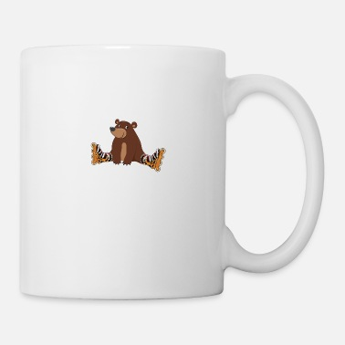 Bear Skateboard inline skating sport bear - Mug