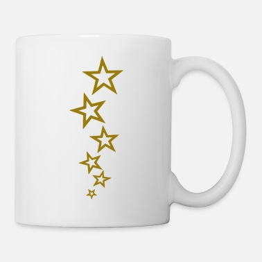Gold goldstern - Tasse