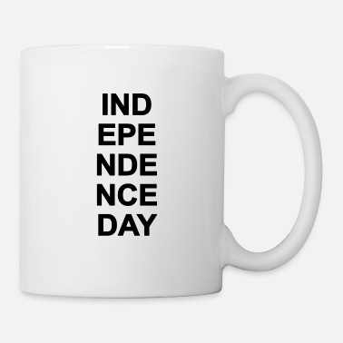 Day INDEPENDENCE DAY - simple - Tasse