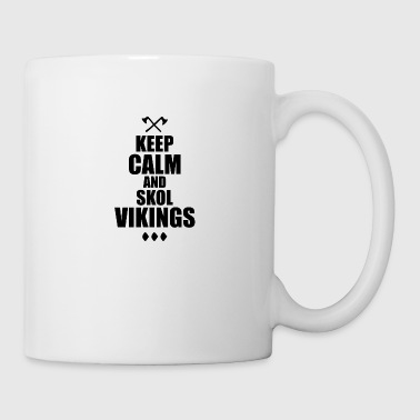 Kepp Calm e Skol Vikings - Tazza