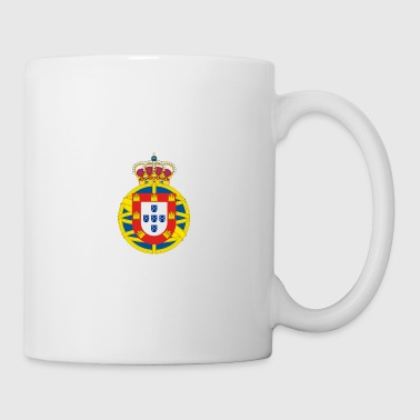 coat of arms of the united kingdom  - Mug blanc