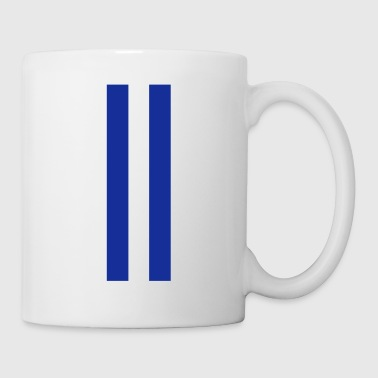 rallye stripes - rally stripes - racing stripes - Mug