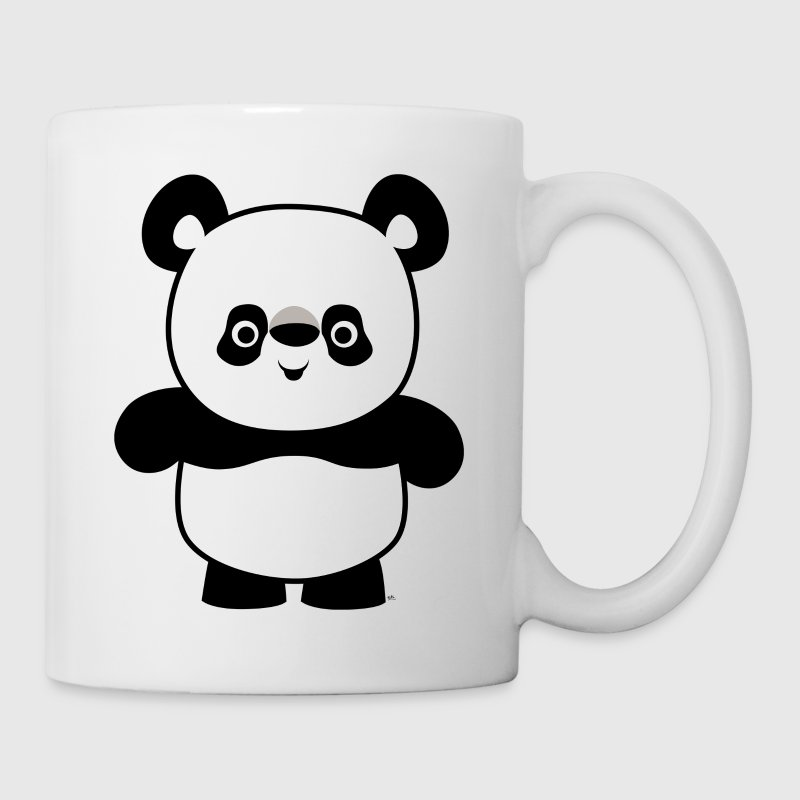 Cute Happy Cartoon Panda by Cheerful Madness!! - Mug