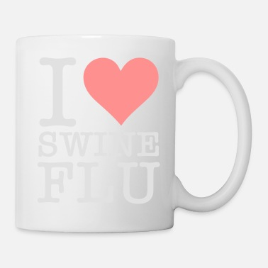 Swine Flu I Love Swine Flu! - Mug