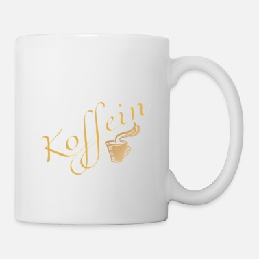 Schlaflos Mama powered by Koffein Shirt Design - Tasse