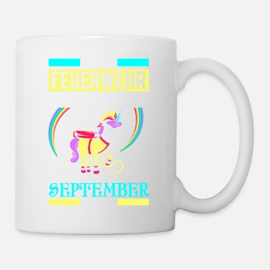 Month September - fire princess - birthday - Unicorn - - Mug