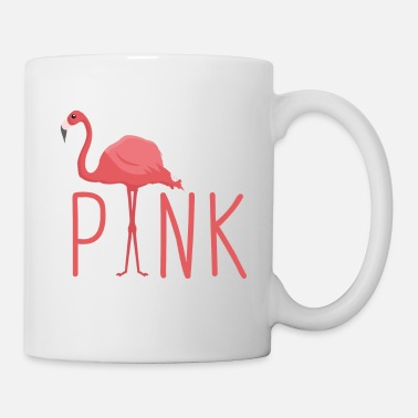Illustration Flamingo - Pretty in Pink - Kubek