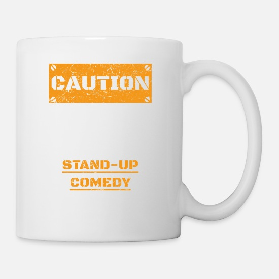 Amie Mugs et récipients - ATTENTION ATTENTION PARLER HOBBY stand up comedy - Mug blanc