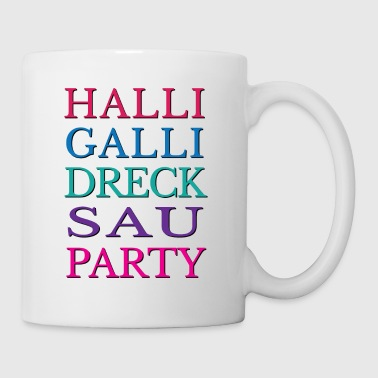 halli galli party - Tasse