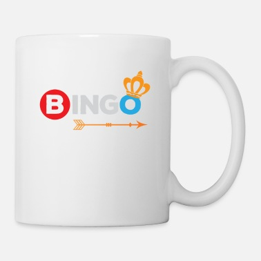Bingo Bingo Shirt Bingo Queen Bingo Player Gift - Mug