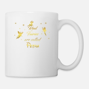 fairy fairies fairy first name Petra - Mug