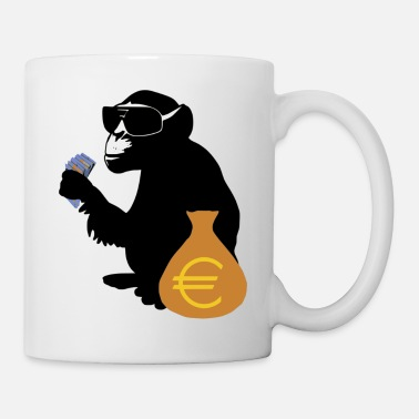 Poverty Euro monkey - Mug