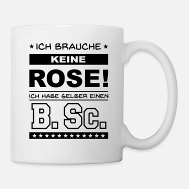 Abschluss Bachelor of Science - Tasse